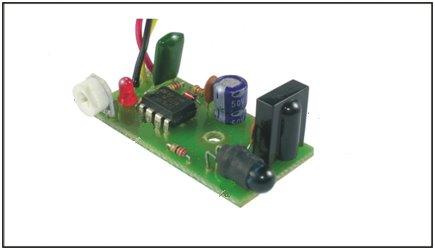 نمونه مدار ساخته شده