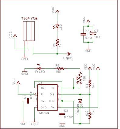 یک نمونه مدار عملی